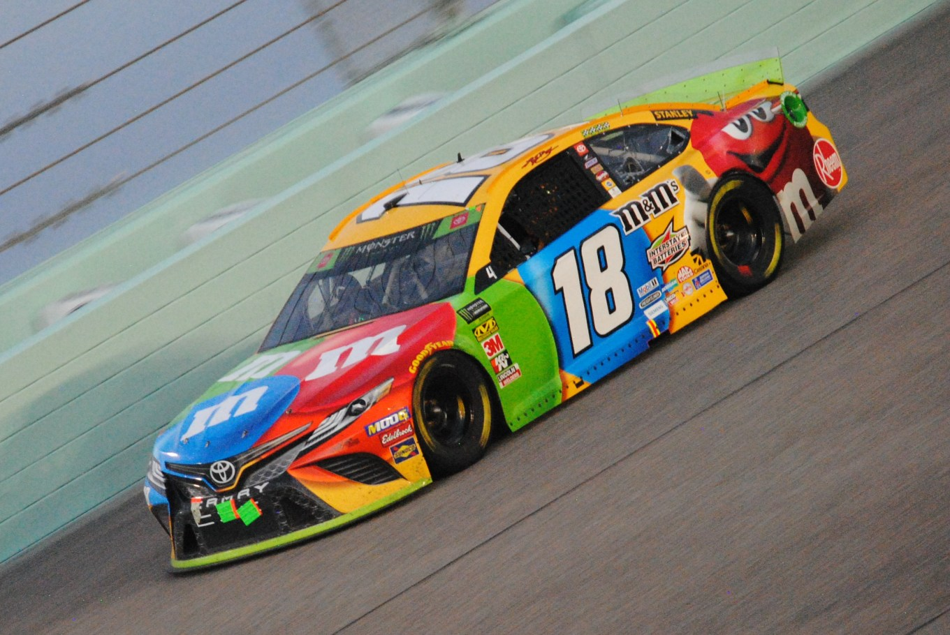 Kyle Busch Ford EcoBoost 400 Homestead 2019
