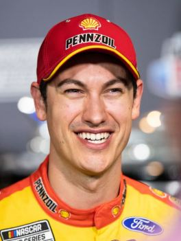 2020 Daytona 500 media day Joey Logano