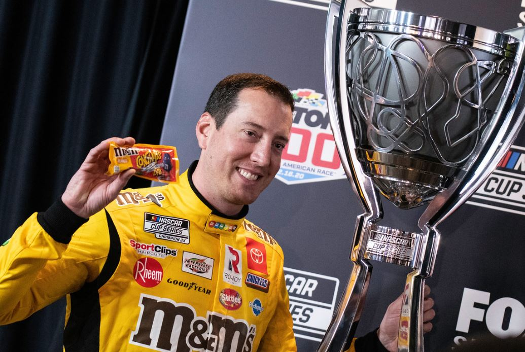 2020 Daytona 500 media day Kyle Busch
