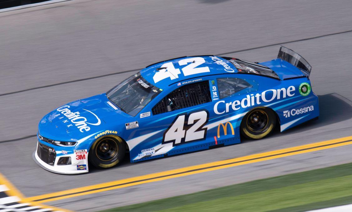 Daytona 500 Q 42 Kyle Larson