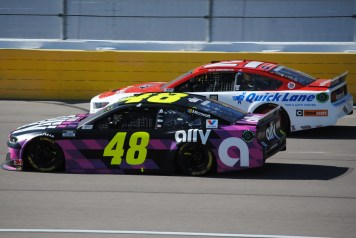 Madrid Las Vegas 2020 Jimmie Johnson 48 DiBenedetto