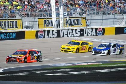 Madrid Las Vegas 2020 Truex Logano Elliott