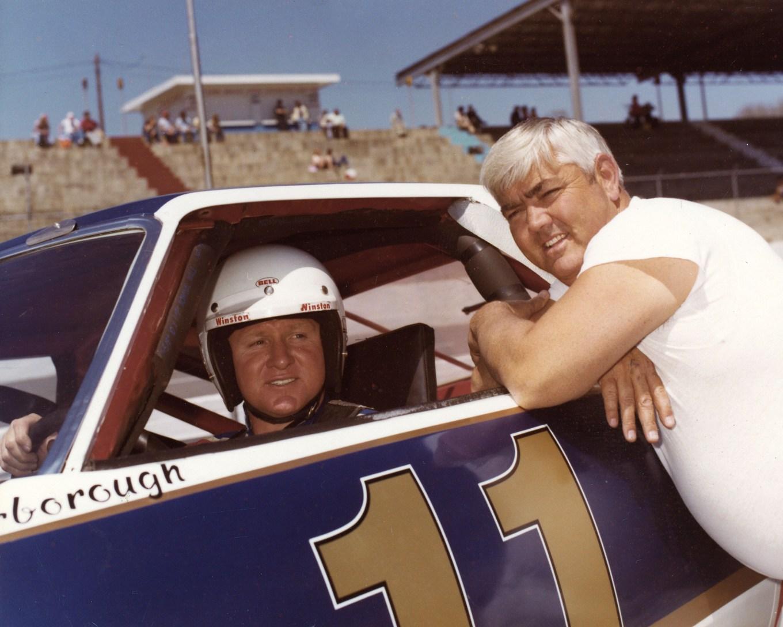 Cale Yarborough and Junior Johnson