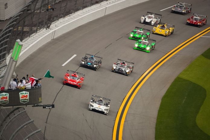 January Preview - Rolex 24 at Daytona Green Flag