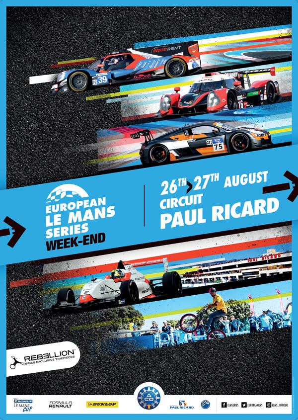 2017 ELMS Paul Ricard 4 Hours Poster