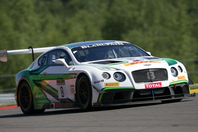 Bentley Blancpain Endurance