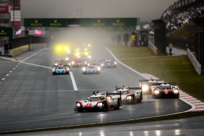 WEC Fuji Race Start