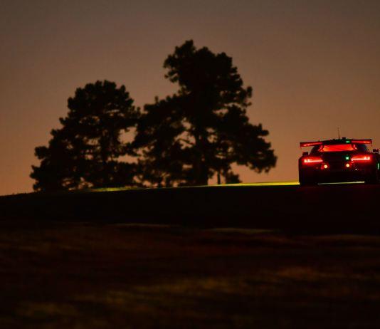 Petit Le Mans Sunset Audi