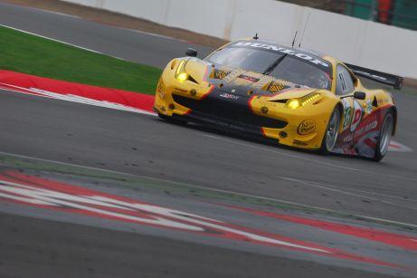 Ferrari 458, Silverstone ILMC 2011