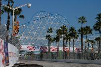 Rollercoaster bridge, The Pike, Long Beach 2006