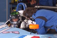Paul Belmondo Courage LMP2, Donington 1000km 2006