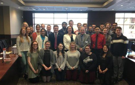 Jill Billings and UWL's Pride Center visits Student Senate