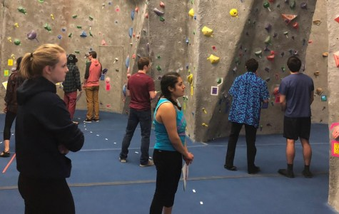 UWL REC Sports Hosts Back to the 80s Bouldering Competition