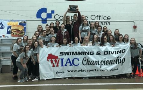 UWL women's swimming and diving wins WIAC Team Championship