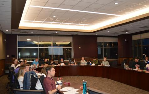 Student Senate discusses several resolutions