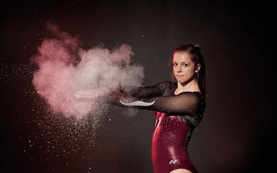 UWl gymnast Dani Barmore. Retrieved from uwlax.edu.