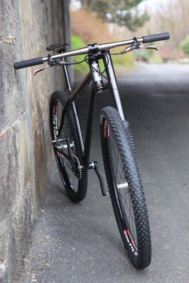 Steel 29er Lefty Forks On Mountain Bikes