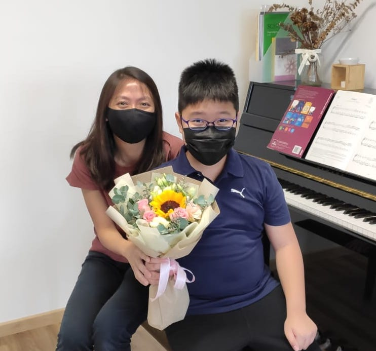 image of special needs music lessons singapore piano autism spectrum ASD learning development