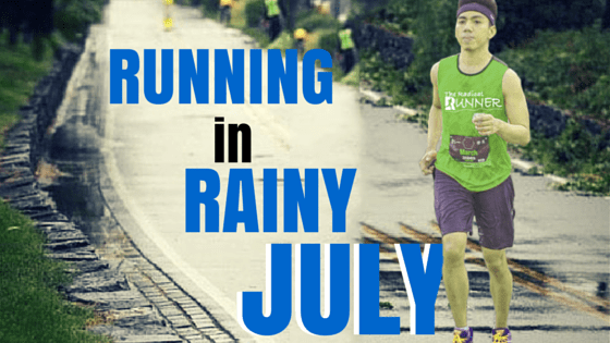 Running in Rainy July