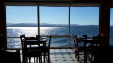 This is the view we had for our lunch... not bad !