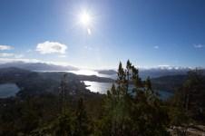Looking west from Cerro Campanario