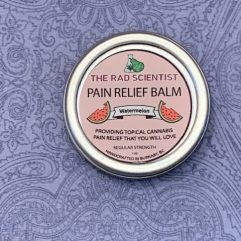 watermelon pain relief balm in regular strength