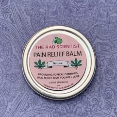 Natural pain relief balm in extra strength
