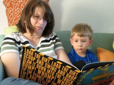 Nana read me Roadwork, one of my favorite books!