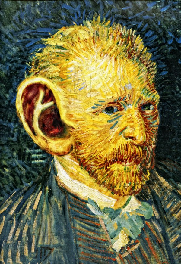 Vincent Van Gogh Ear