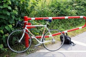 Ein Wheeler Rennrad aus den 90er