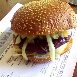 handmade burger menu ringwood