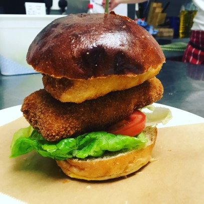 Ringwood Railway Pub and Kitchen Handmade Fish Finger Burger