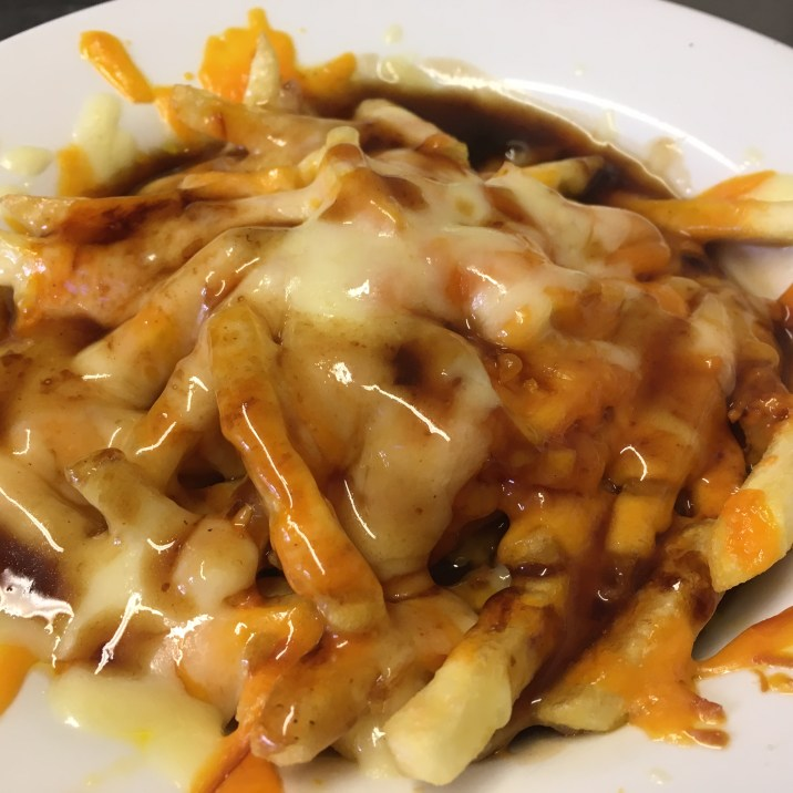 Poutine and Loaded Fries available all day