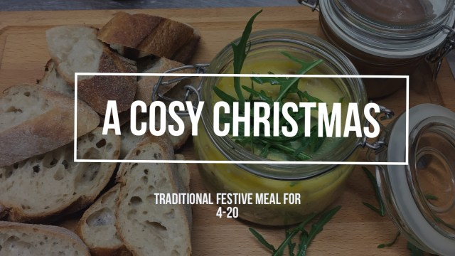 Christmas menu In Ringwood  and The New Forest
