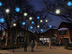 The Furlong Christmas Light Switch On
