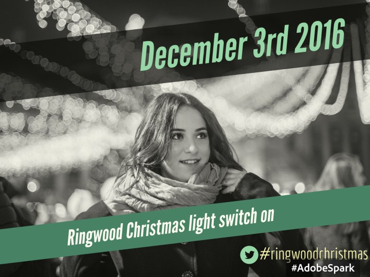 When is ringwood Christmas light switch on? Find out here!
