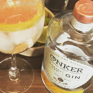 Conker Gin and Tonic at Ringwood Craft Pub The Railway