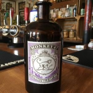 New Forest Pub Ringwood Railway Serving Craft Monkey 47 Gin