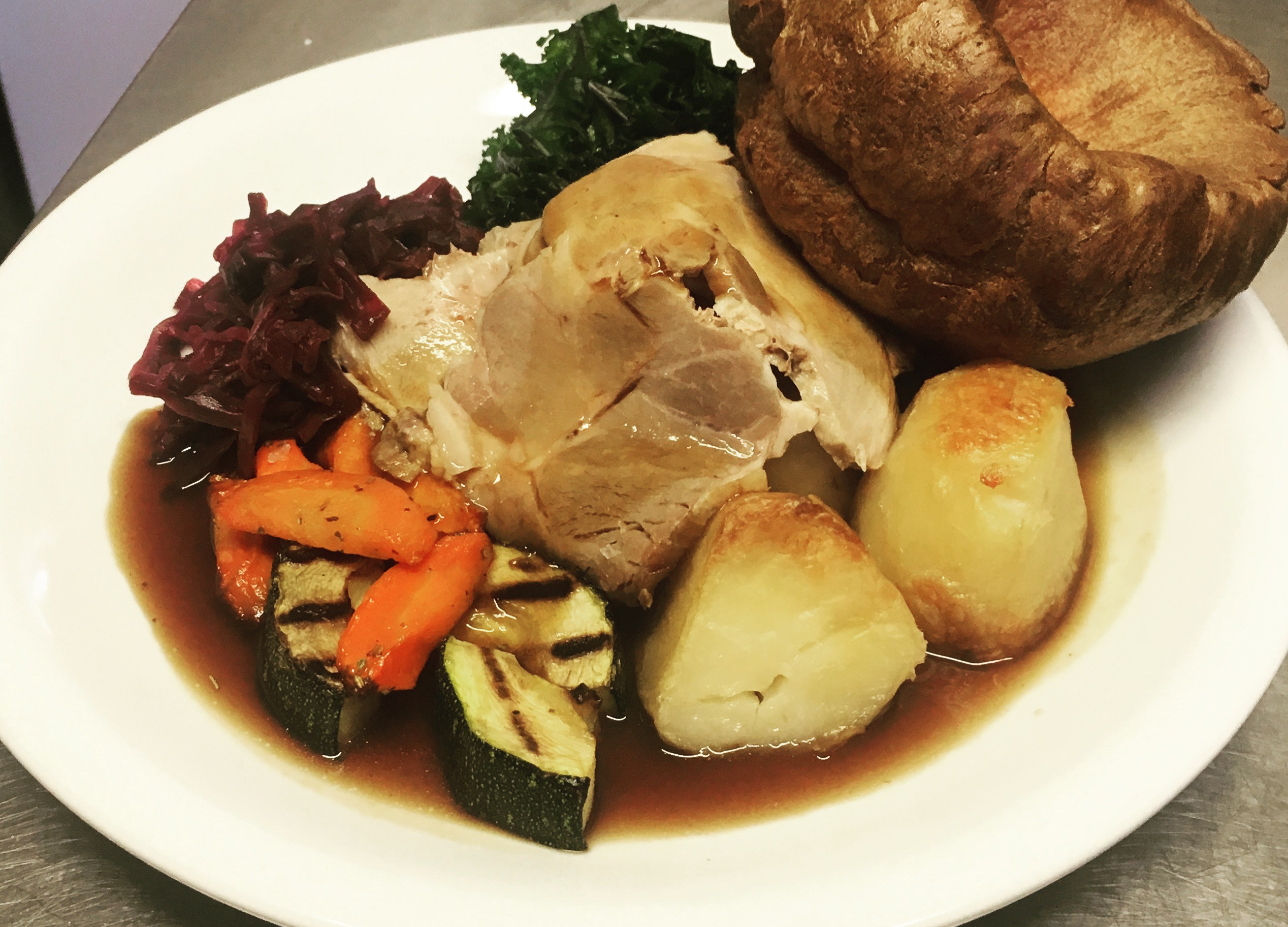 Traditional Roasts using New Forest Produce at Ringwood Railway