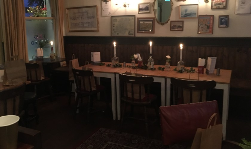 Christmas Dining Ringwood New Forest Pub