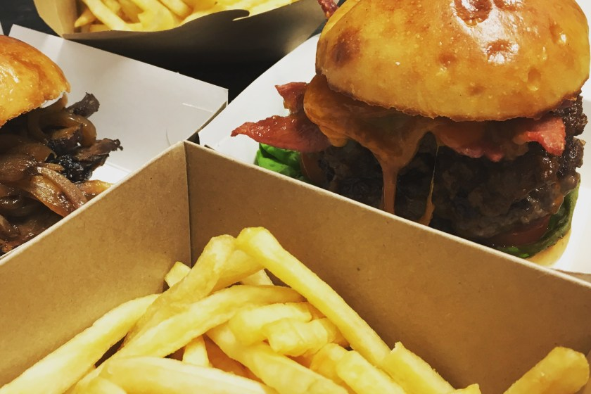 Burger and Pint for £10 during any six nations game