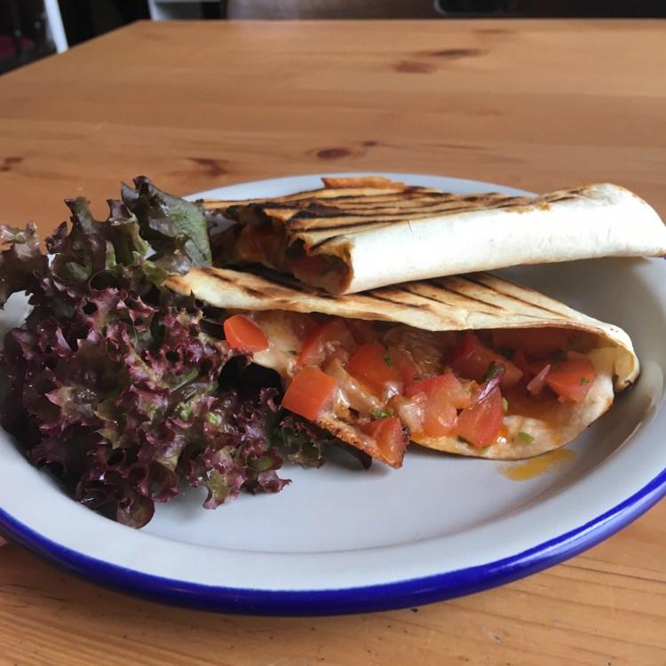Railway Ringwood Craft Pub Quesadilla Mexican food