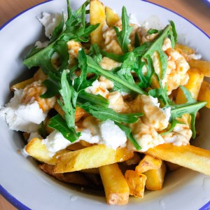 Rosary Goats Cheese Canadian Poutine The Railway Pub and Kitchen Menu