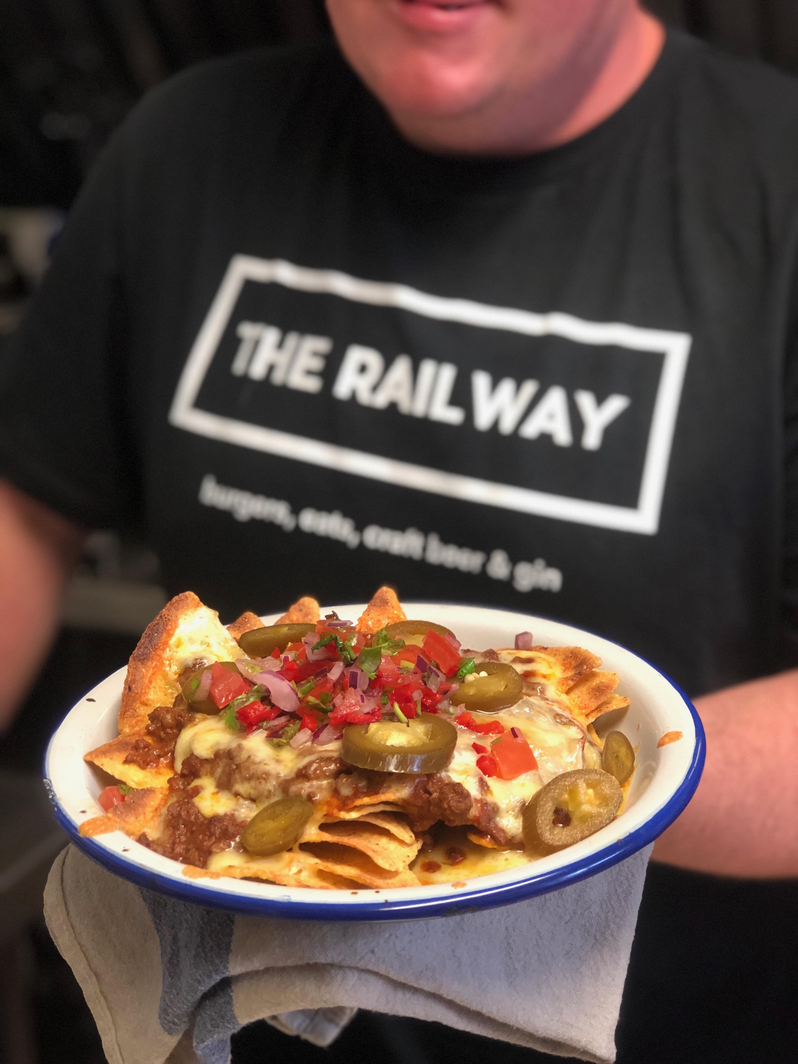 Chilli Nachos at The Railway Ringwood