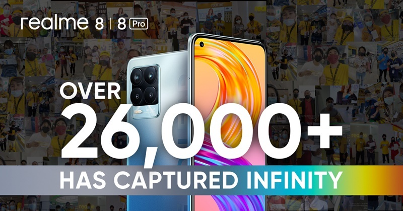 realme PH Achieves Record-Breaking First-Day Sales For 8 Series