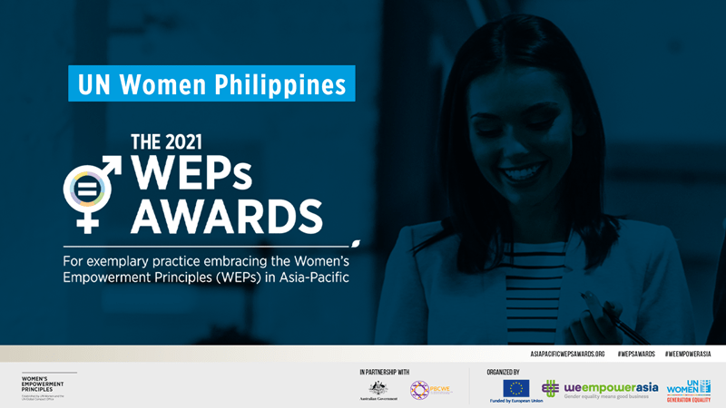 Nominations Open For The 2021 Women's Empowerment Principles Awards In The Philippines