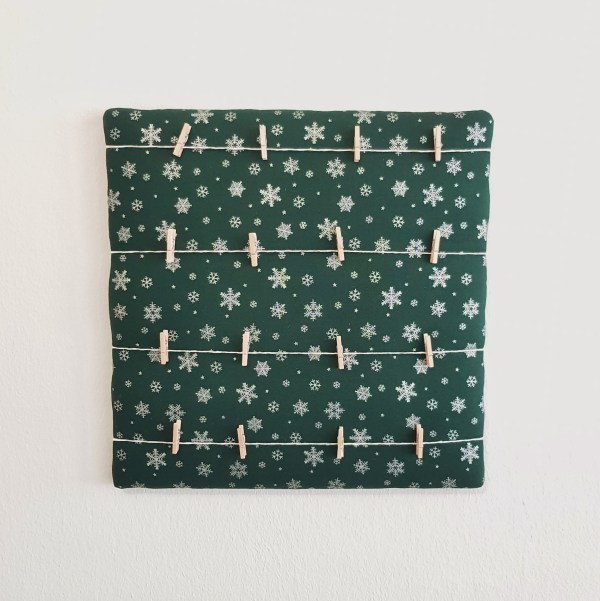 Snow Forest Memo Board