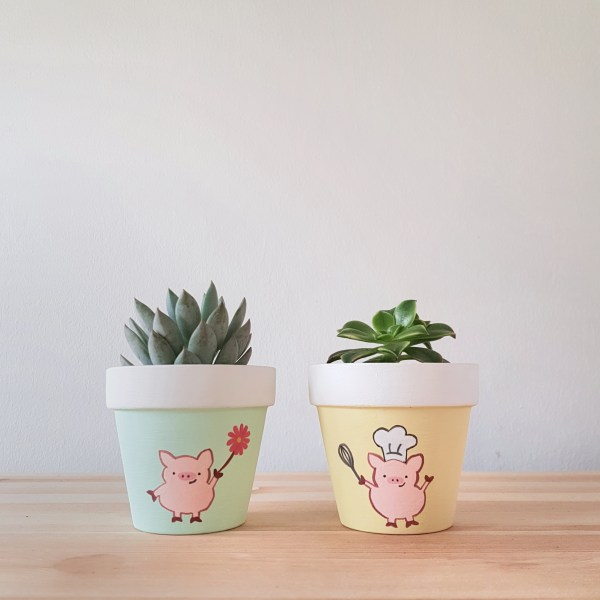 Positive and Peckish Pigs
