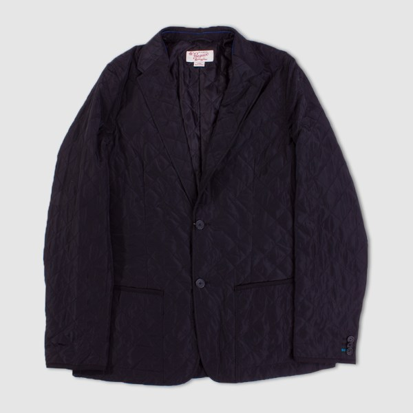 Original Penguin True Black Quilted Blazer Rainy Days