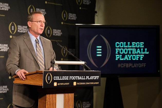 Chairman Jeff Long and the rest of the committee let college football down. (USA Today Sports)